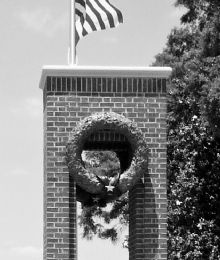 WWII War Memorial Wreath