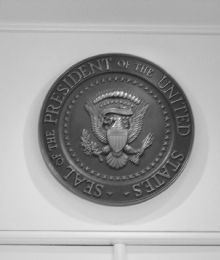 Great Presidential Seal at the White House