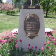 Bronze cast relief script plaque for the City of Reading, PA Police Officer Memorial