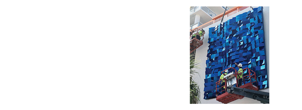 Art foundry with registered conservators and certified welders