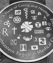 Southeastern Regional Medical Center Plaque
