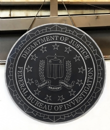 FBI Plaque
